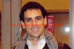 Juan Diego Florez Opera Signed Photo 17x11,5cm - Autographes