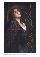 Maria Guleghina Opera Signed Photo 21x29,5cm - Autographes
