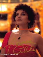 Fiorenza Cedolins Opera Signed Photo 16x21cm - Autographes
