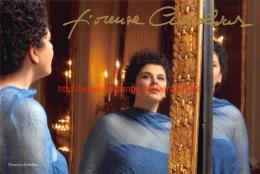 Fiorenza Cedolins Opera Signed Photo 22,5x15cm - Autographes