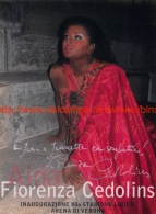 Fiorenza Cedolins Opera Signed Photo 12x16cm - Autographes