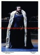 Fabio Sartori Opera Photo 13x17,5cm - Autographes
