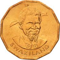 Swaziland, Sobhuza II, Cent, 1982, British Royal Mint, FDC, Bronze, KM:7 - Swaziland
