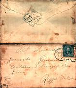 88209) Lettera Con 5c. Grant Blu Da New-york A Catania Il 22-8-1899 - 1840-1901 (Regina Victoria)