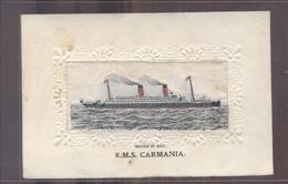 Great Britain - Woven In Silk - R M S Carmania - 1915 - Non Classés
