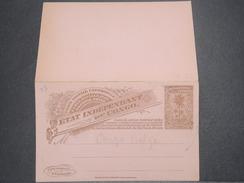 CONGO BELGE - Entier Postal + Réponse Non Voyagé - L 8306 - Stamped Stationery
