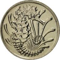 Singapour, 10 Cents, 1981, Singapore Mint, FDC, Copper-nickel, KM:3 - Singapour