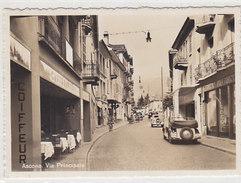 Ascona - Via Principale Con Oldtimer   (P-44-50211) - TI Tessin