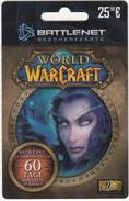 GERMANY - World Warcraft, Battlenet Gift Card, Unused - Jeux