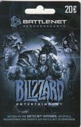 GERMANY - Blizzard Entertainment, Battlenet Gift Card 20 Euro, Unused - Jeux