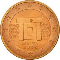 Malte, 2 Euro Cent, 2008, SUP, Copper Plated Steel, KM:126 - Malta