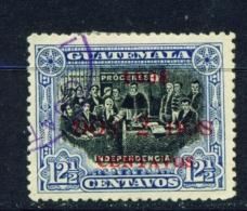 GUATEMALA  -  1908  Surcharge  2c On 121/2c  Used As Scan - Guatemala