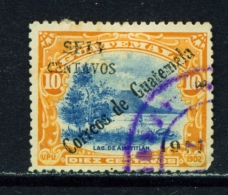 GUATEMALA  -  1911  Surcharge  6c On 10c  Used As Scan - Guatemala