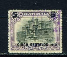 GUATEMALA  -  1912  Surcharge  5c On 75c  Used As Scan - Guatemala