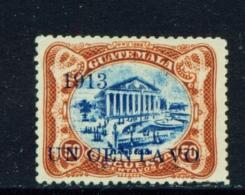 GUATEMALA  -  1913  Surcharge  1c On 50c  Used As Scan - Guatemala