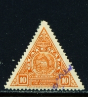 GUATEMALA  -  1929  Official  10c  Used As Scan - Guatemala