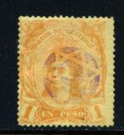 GUATEMALA  -  1878  Indian  1p  Used As Scan - Guatemala