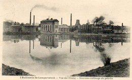 CPA - LAMPERTSLOCH (67) - Environs De Woerth - Aspect De La Raffinerie ,raffinage Du Pétrole Et De L'Etang En 1924 - France