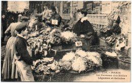 75 PARIS - Le Carreau Des Halles - Légumes Et Salades   (Recto/Verso) - Altri