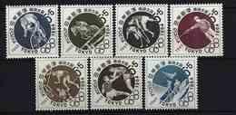 JAPAN - Mi-Nr. 832 - 834 + 863 - 866 Olympische Sommerspiele 1964, Tokyo Postfrisch - 1926-89 Kaiser Hirohito (Showa Era)