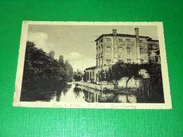 Cartolina Treviso - Il Sile A S. Martino - Casa Santalena 1920 Ca - Treviso
