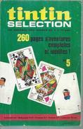 TINTIN SELECTION  N° 5   -  DARGAUD 1970  ( DAN COOPER / RIC HOCHET / TOUNGA / MICHEL VAILLANT ) - Tintin
