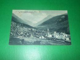 Cartolina Valsavarenche - Dégioz - Sfondo Punta Fourà 1920 Ca - Italie