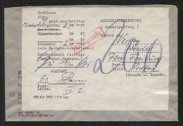 Bund - 200 Pf. Nachgebühr Auf Sammel-Anschriftenprüfung - Postamt Bonn Vom 17.10.1974 - BRD