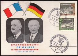 Germany Munich 1962 / De Gaulle In Germany / International Medicine Congresse - Medicina