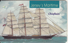 """JERSEY ISL. - Jersey""""s Maritime/Chieftain, CN : 59JERD(normal 0), Tirage %30000, Used - United Kingdom"""