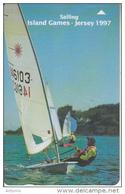 JERSEY ISL. - Island Games Jersey 1997/Sailing, CN : 53JERG(0 With Barred), Tirage 15000, Used - United Kingdom