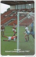 JERSEY ISL. - Island Games Jersey 1997/Football, CN : 53JERF(normal 0), Tirage 15000, Used - United Kingdom