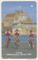 JERSEY ISL. - Island Games Jersey 1997/Cycling, CN : 53JERC(normal 0), Tirage 15000, Used - United Kingdom