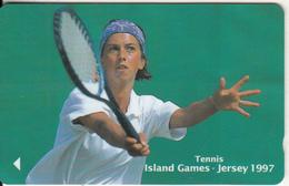 JERSEY ISL. - Island Games Jersey 1997/Tennis, CN : 53JERB(normal 0), Tirage 15000, Used - United Kingdom
