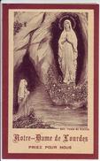 - Ancienne Image Pieuse, Image Religieuse - Notre Dame De Lourdes - - Religion & Esotericism
