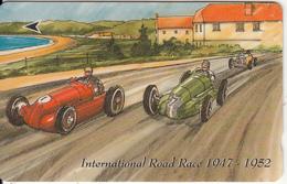 JERSEY ISL. - 75th Anniversary Of JMC/International Road Race 1947-1952, CN : 37JERB(normal 0), Tirage %15000, Used - Regno Unito