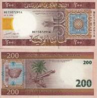 Mauritania  200 Ouguiya 28.11.2006 P 11 B *UNC* - Mauritanie