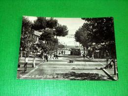 Cartolina Miramare Di Rimini - Viale Al Mare 1954 - Rimini