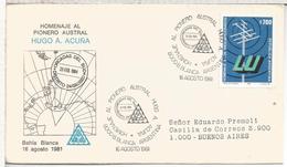 ARGENTINA 1981 RADIOAFICIONADOS RADIOAMATEURS RADIO TELECOM - Telecom