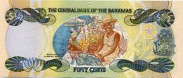 BAHAMAS 1/2 Dollar 50 Cents P 68 2001 UNC - Bahamas