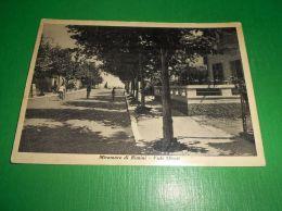 Cartolina Miramare Di Rimini - Viale Oliveti 1951 - Rimini