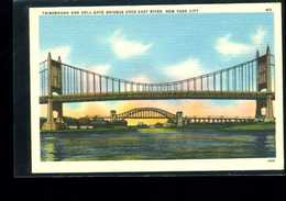 Triborough And Hell-gate Bridges Over East River - Ponts & Tunnels