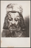 Old Photograph, Bust Of Good King Wenceslas, St Vitus Cathedral, Praha, České Republiky, 1942 - Objects