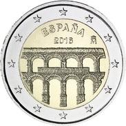 España 2016, 2 Euros, Acueducto De Segovia (**) UNC - España