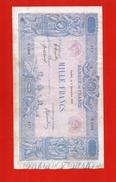 Billet De Banque - Mille Francs Année 1919 - N°1368 - 1871-1952 Anciens Francs Circulés Au XXème