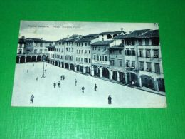 Cartolina Figline Valdarno - Piazza Marsilio Ficino 1940 - Firenze