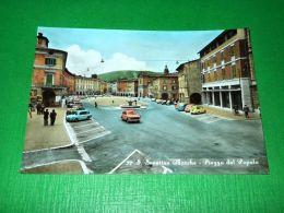 Cartolina San Severino Marche - Piazza Del Popolo 1955 Ca - Macerata