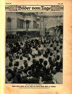 Sultan Abdul Hamid Auf Der Fahrt Vom Palais Yildiz Zur Moschee, Zeppelins Große Fahrt Und Ihr Tragisches Ende/Druck 1908 - Livres, BD, Revues