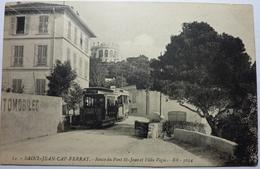 ROUTE DU PONT St JEAN ET VILLA VIGIE - SAINT JEAN CAP-FERRAT - Saint-Jean-Cap-Ferrat