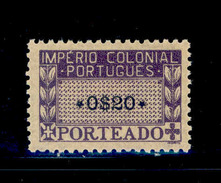 ! ! Portuguese Africa - 1945 Postage Due $20 - Af. P02 - MH - Portuguese Africa